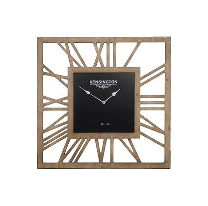 Horloge carrée 60 cm