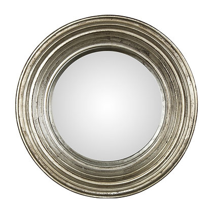 Miroir convexe argenté 52cm
