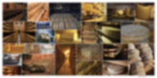 Décoration stand de marché fromagerie