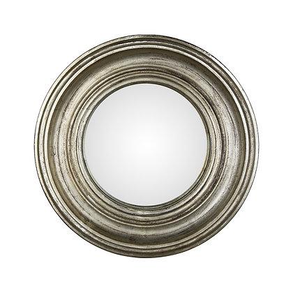 Miroir convexe argenté 40cm