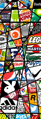 Panneau Décoratif Logos