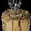 Thumbnail: Lampe carrée bois naturel