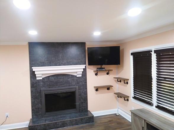 Complete room remodel