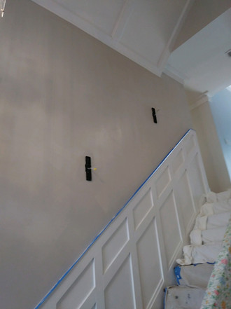 Drywall Patch-Stairwell