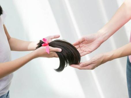 Outubro Rosa :  Doação de cabelos para mulheres com câncer