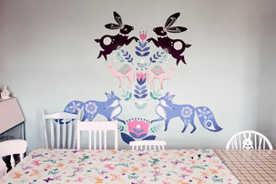 Brooklyn_Pottery_Party_Room_Animal_Wall.