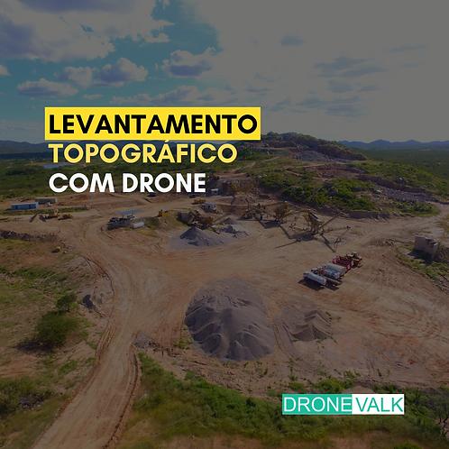 Levantamento topográfico com Drone