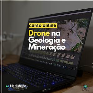Drone na Geologia e Mineração