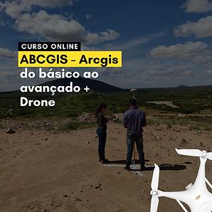 ABCGIS - Arcgis do básico ao avançado + Drone