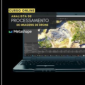 Analista de processamento de imagens de Drone com Metashape