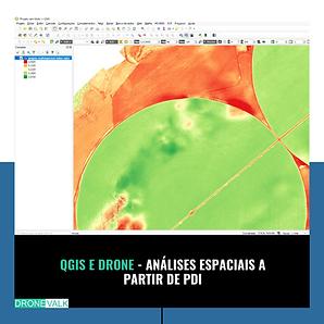 Qgis e drone -Análise espacial