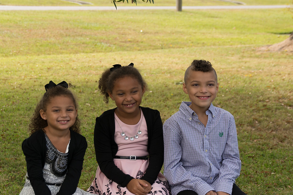 They are 3 of my grandkids!