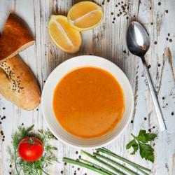 red-lentil-soup-with-lemon-tomato-bread-