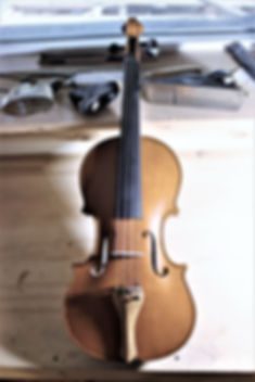Strad model violin 2015