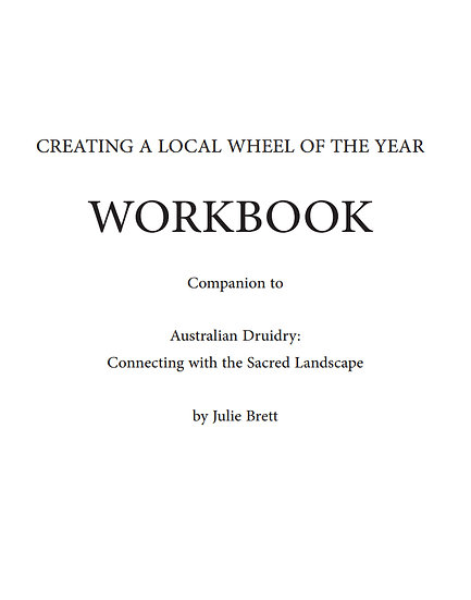 Wheel of the Year Workbook
