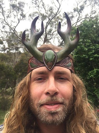 Eucalyptus Horned Headdress