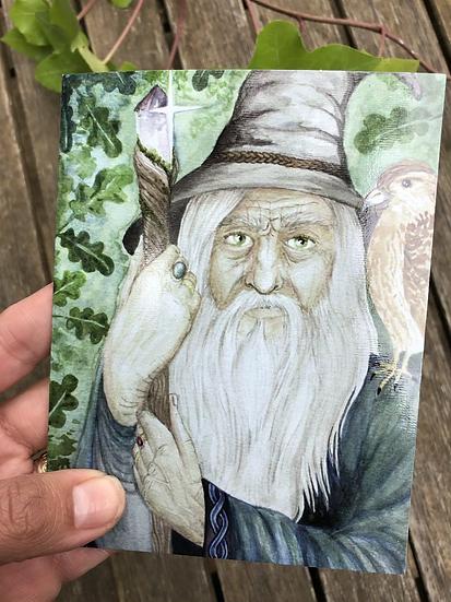 Merlin's Blessing 6 Card Set