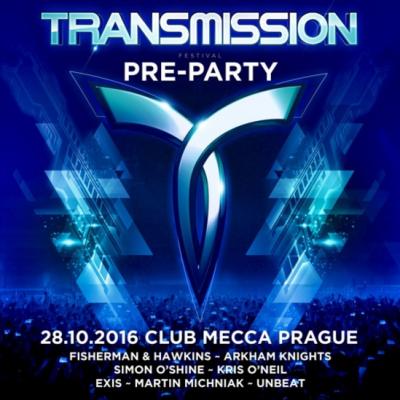 Exis @ Transmission Pre-Party, Prague