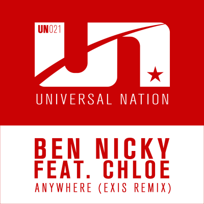 Ben Nicky feat Chloe - Anywhere (Exis Remix)