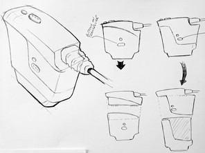 Concept Sketch - Cartridge Loading