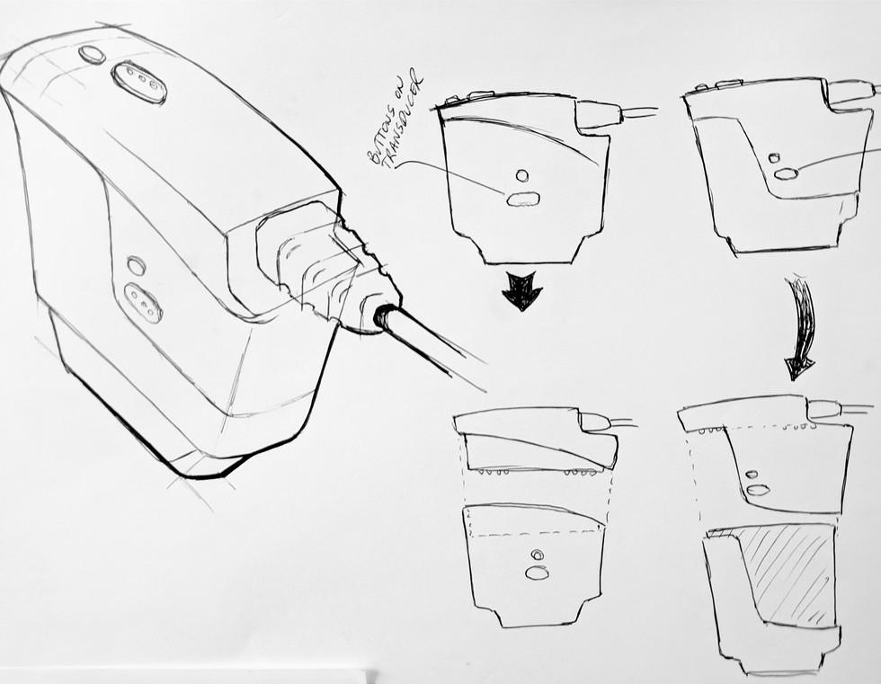 Concept Sketch - Cartridge Loading