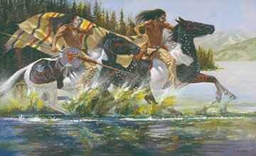 """Hudson Bay Horse Raiders"""