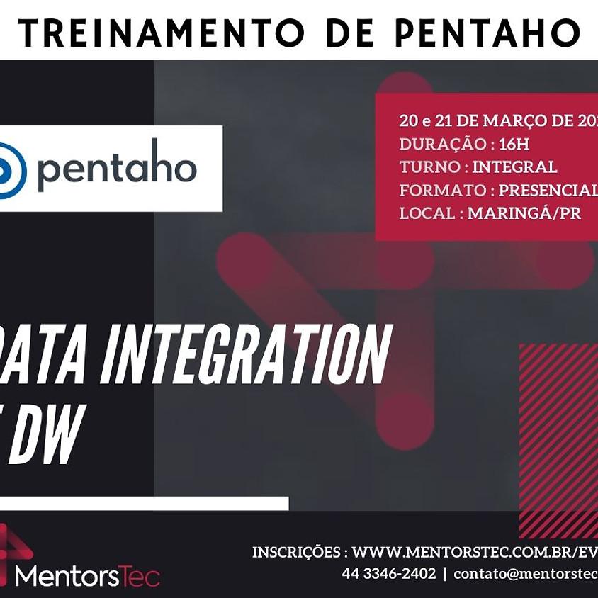 Treinamento de Pentaho Data Integration e DW