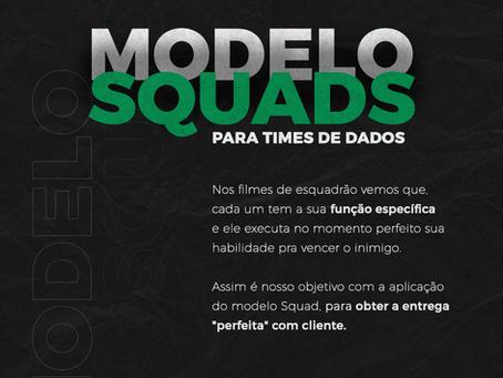 Modelo Squads para times de Dados
