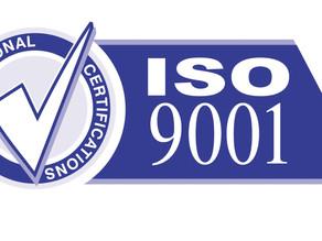 Сертификат iso 9001- Управление качеством