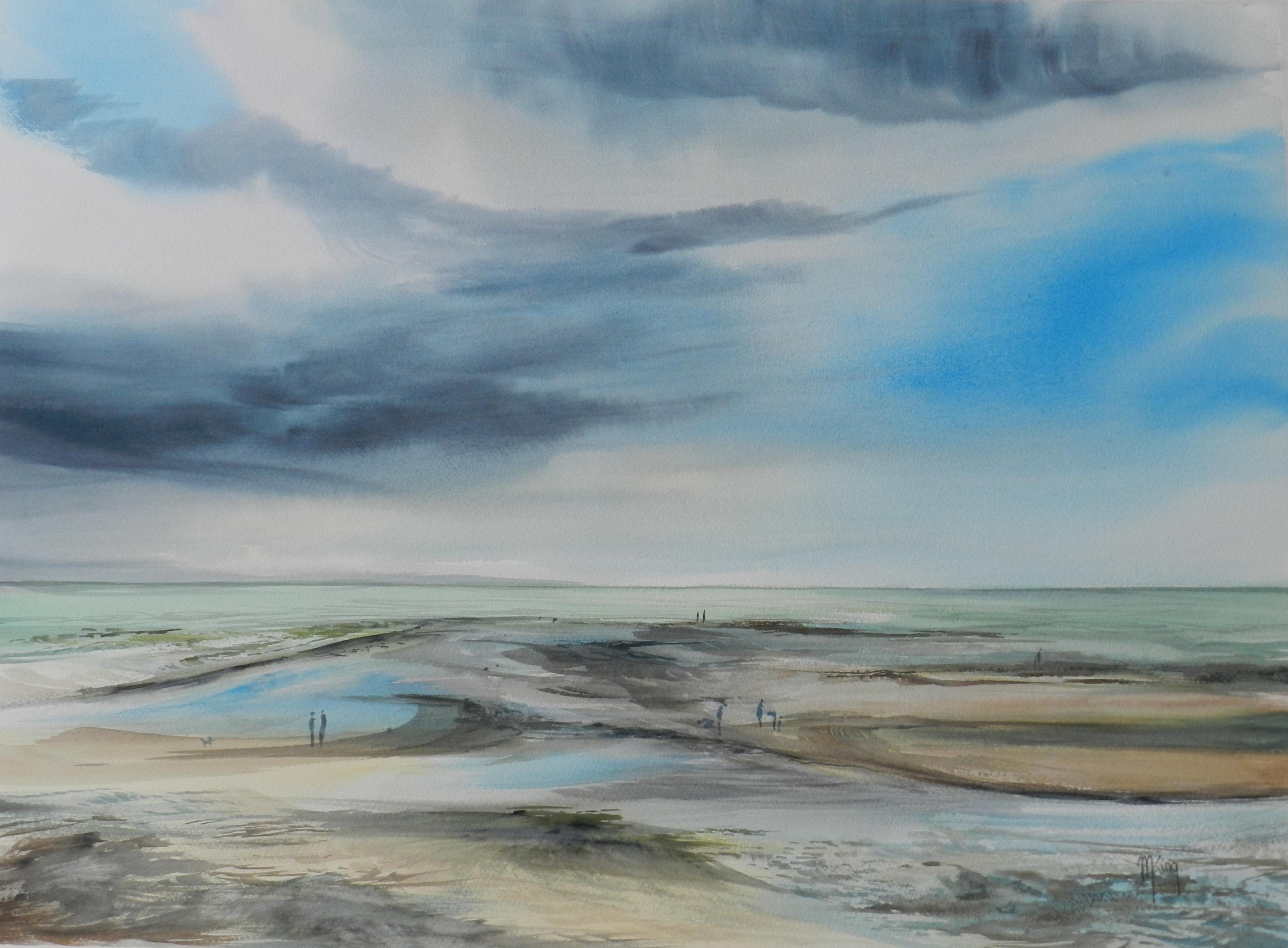 plage de Saint Aubin