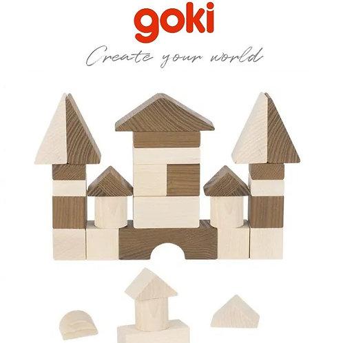 Goki Building Blocks Natural