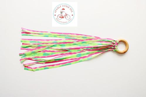 Meadow Silk Dyed Hand Kite