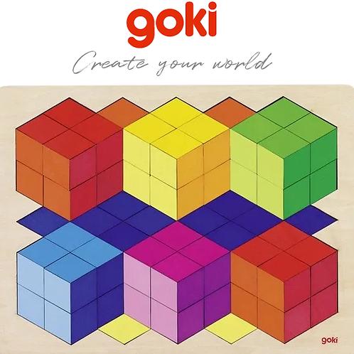Goki Wooden Puzzle 3D