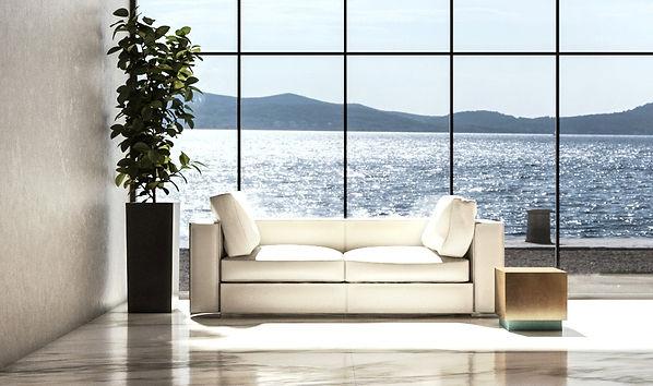composizione interna divano chaise longu