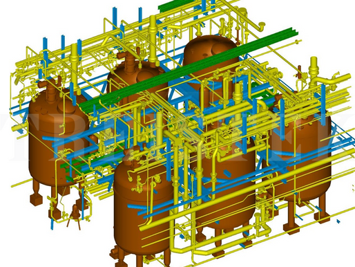 Case Study - Petrochemicals Plant Modeling