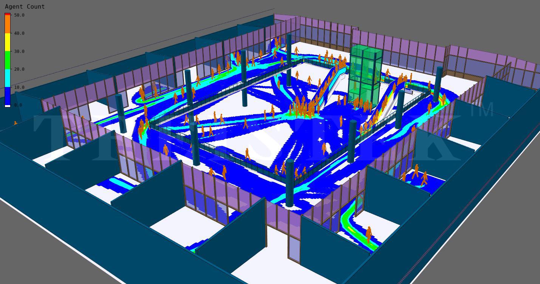 Crowd Simulation Modeling