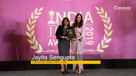 Jayita Sengupta - India Icon Awards 2019
