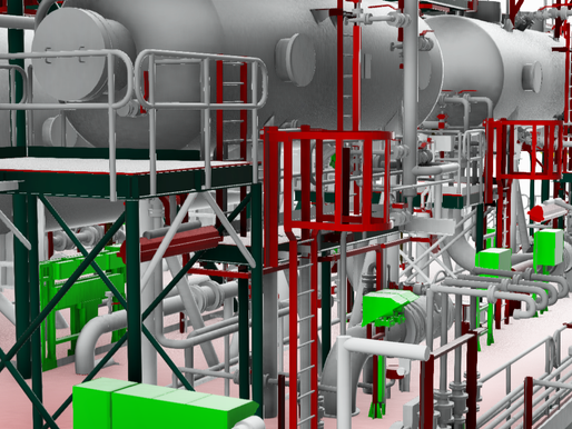 Benefits of 3D models in Oil Refinery Plants