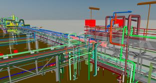 Pipe Bridge Modeling