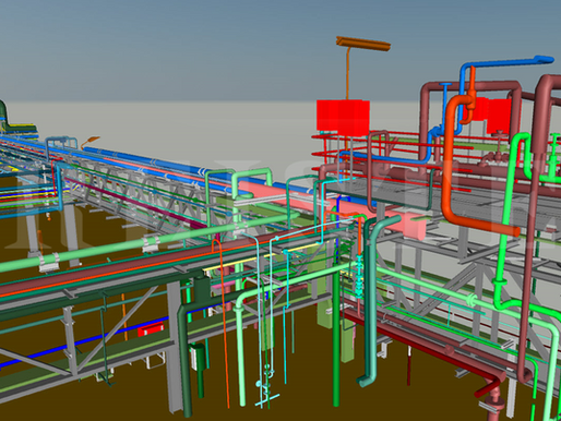 Case Study - Pipe Bridge Modeling