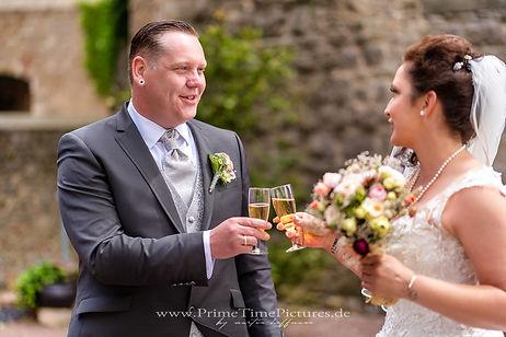 Hochzeit Hochzeitsfoto Sektempfang