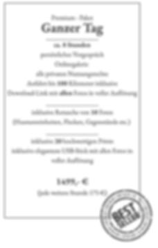 Hochzeitsfotograf Wernigerode Preise