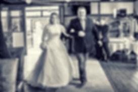 Einlauf Braut Vater Hochzeit