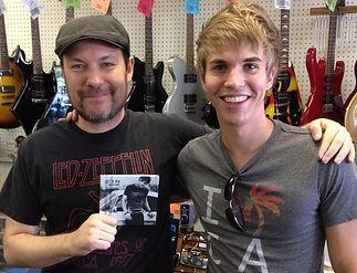 Bret Helm & Student Luke Betchner