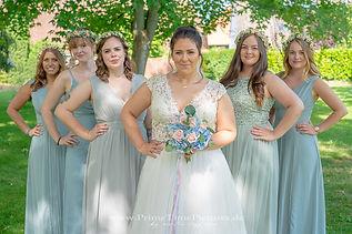 Hochzeitsfotograf Nordhausen Brautjungfern