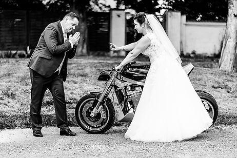 Hochzeitsfotograf Harz Bike Motorrad