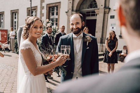 Hochzeitsfotograf Harz Sektempfang