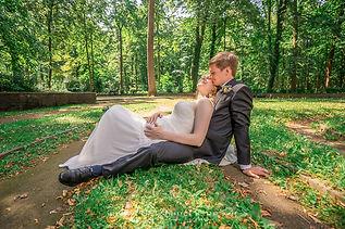 Hochzeitsfotograf Hildesheim Brautpaar im Park