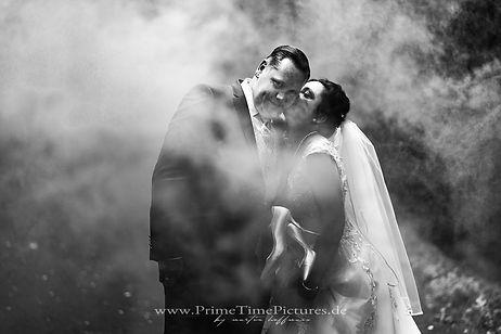 Hochzeitsfotos Brautpaar Rauch