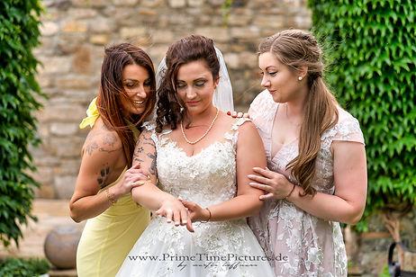 Hochzeitsfotograf Harz Hochzeitsfoto Brautjungfern